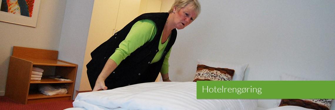 Hotelrengøring